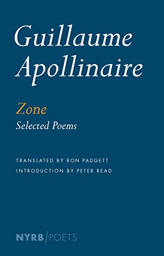 9781590179246: Zone: Selected Poems (NYRB Poets)
