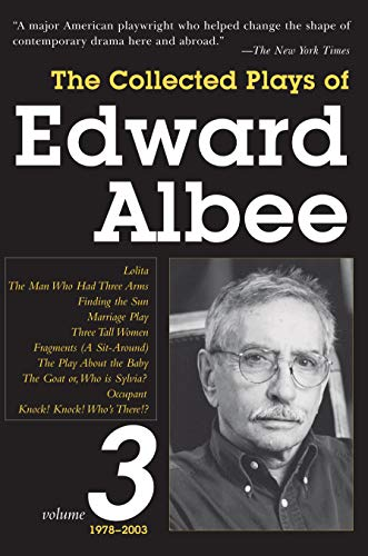 9781590201145: Collected Plays of Edward Albee: 1978- 2003