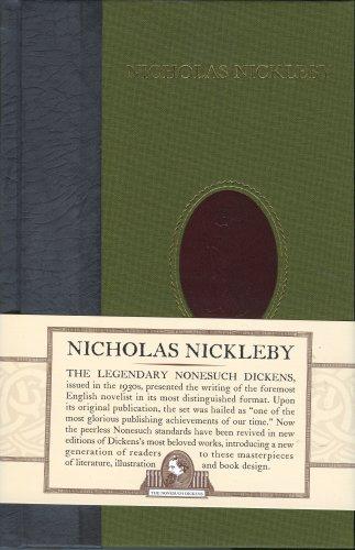 9781590201350: Nicholas Nickleby (Nonesuch Dickens)