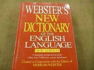 Webster's New Dictionary of the english Language New Edition: Merriman-Webster