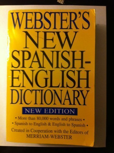 9781590270837: Webster's New Spanish-English Dictionary, New Edition