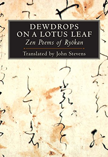 9781590301081: Dewdrops on a Lotus Leaf: Zen Poems of Ryokan