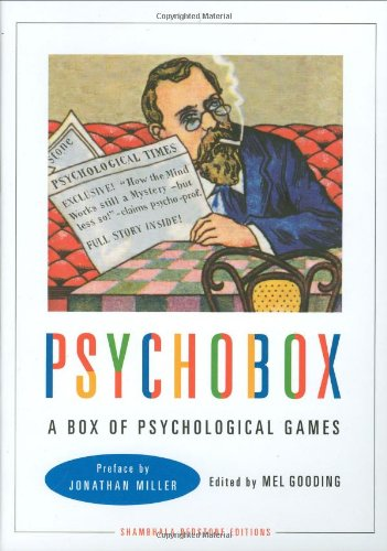 The Psychobox: A Box of Psychological Games: Editor-Mel Gooding; Introduction-Jonathan