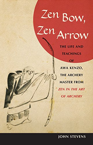 Zen Bow, Zen Arrow: The Life and Teachings of Awa Kenzo, the Archery Master from  Zen in the Art of Archery  9781590304426 Here are the inspirational life and teachings of Awa Kenzo (1880–1939), the Zen and kyudo (archery) master who gained worldwide renown after the publication of Eugen Herrigel's cult classic Zen in the Art of Archery in 1953. Kenzo lived and taught at a pivotal time in Japan's history, when martial arts were practiced primarily for self-cultivation, and his wise and penetrating instructions for practice (and life)—including aphorisms, poetry, instructional lists, and calligraphy—are infused with the spirit of Zen. Kenzo uses the metaphor of the bow and arrow to challenge the practitioner to look deeply into his or her own true nature.