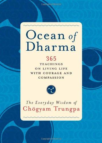 9781590305362: Ocean of Dharma: The Everyday Wisdom of Chogyam Trungpa
