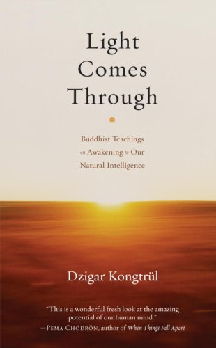 9781590305676: Light Comes Through: Buddhist Teachings on Awakening to Our Natural Intelligence