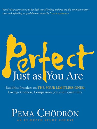 9781590306284: Perfect Just as You Are: Buddhist Practices on the Four Limitless Ones--Loving-Kindness, Compassion, Joy, and Equanimity