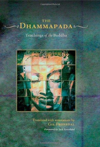 9781590306413: The Dhammapada (Book and Audio-CD Set): Teachings of the Buddha