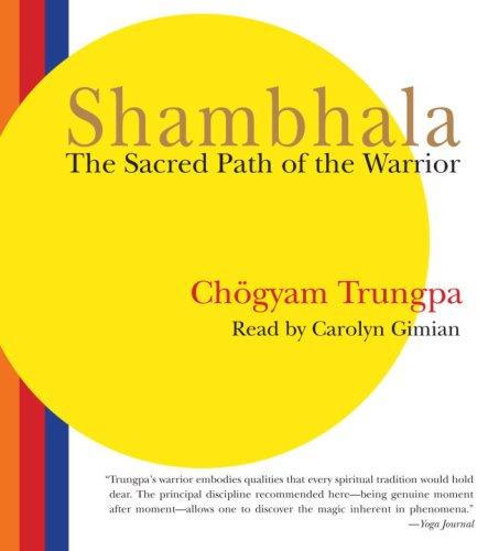 9781590306635: Shambhala: The Sacred Path of the Warrior