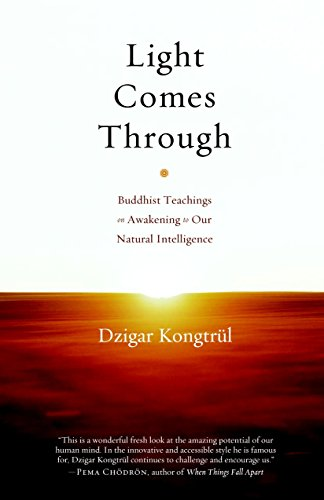 9781590307199: Light Comes Through: Buddhist Teachings on Awakening to Our Natural Intelligence