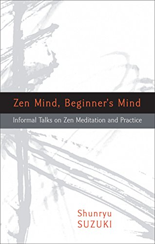 9781590308493: Zen Mind, Beginner's Mind: Informal Talks on Zen Meditation and Practice