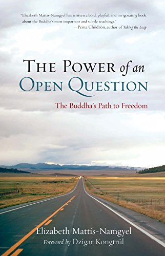 9781590309278: The Power of an Open Question: The Buddha's Path to Freedom
