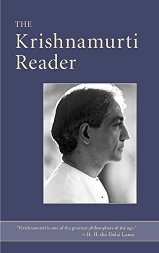 The Krishnamurti Reader (9781590309384) by J. Krishnamurti