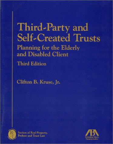 9781590310373: Third-Party and Self-Created Trusts