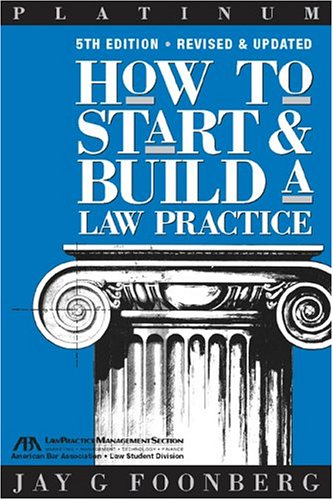 9781590312476: How to Start & Build a Law Practice (Career Series / American Bar Association)