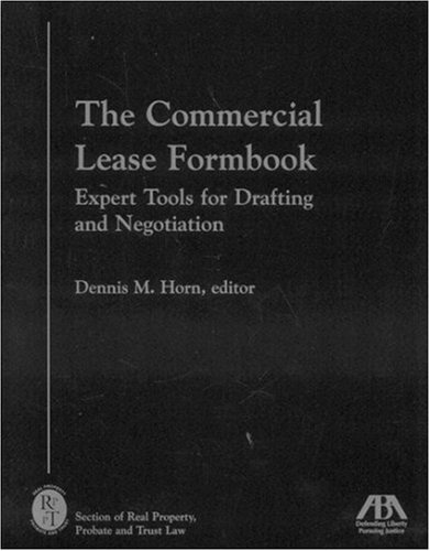 9781590312803: The Commercial Lease Formbook: Expert Tools for Drafting and Negotiation
