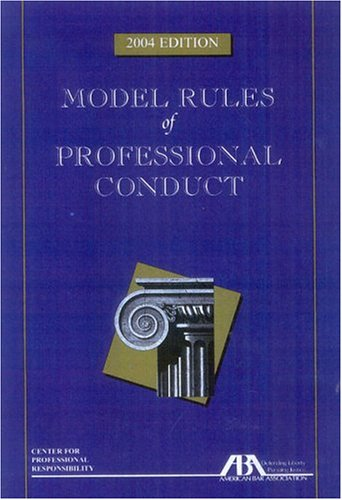9781590312841: Model Rules of Professional Conduct
