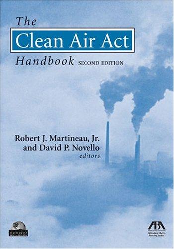 9781590312896: The Clean Air Act Handbook