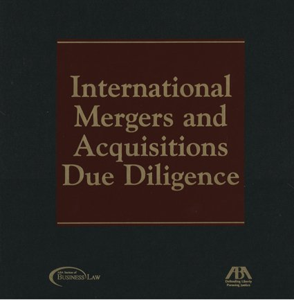 9781590312940: International Mergers and Acquisitions Due Diligence