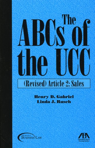 9781590313053: The ABCs of the UCC, Article 2: Revised: Sales (No. 2)