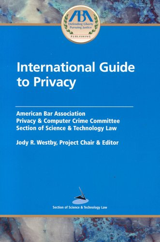 9781590313336: International Guide to Privacy