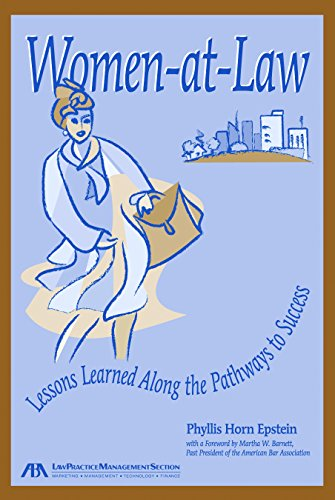 9781590313541: Women at Law: Lessons Learned Along the Pathways to Success