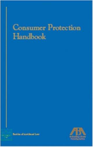 9781590313688: Consumer Protection Handbook