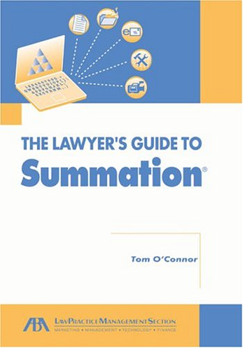 Lawyer's Guide to Summation (1590313836) by Tom O'Connor