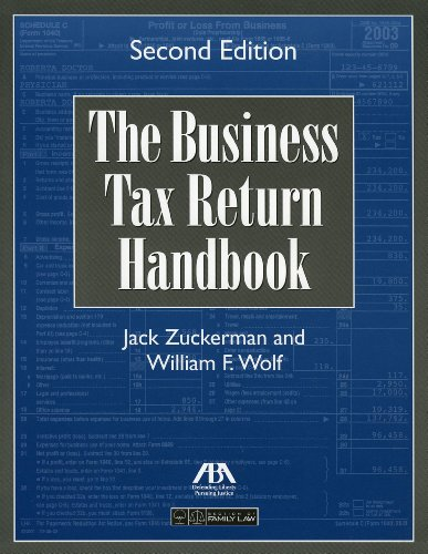 9781590313978: The Business Tax Return Handbook