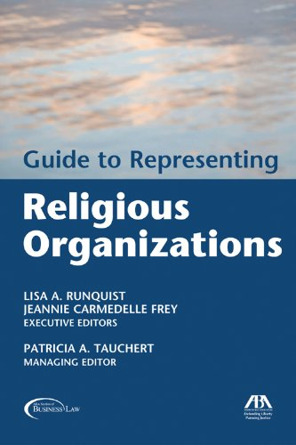 9781590314005: Guide to Representing Religious Organizations