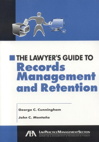 9781590314500: The Lawyer's Guide to Records Management and Retention