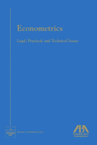 9781590315170: Econometrics: Legal, Practical and Technical Issues