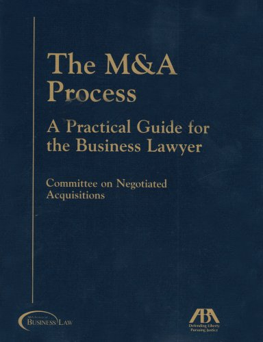 9781590315729: The M & A Process: A Practical Guide for the Business Lawyer