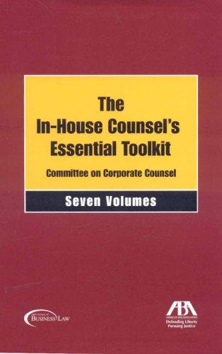 9781590316627: In-House Counsel's Essential Toolkit