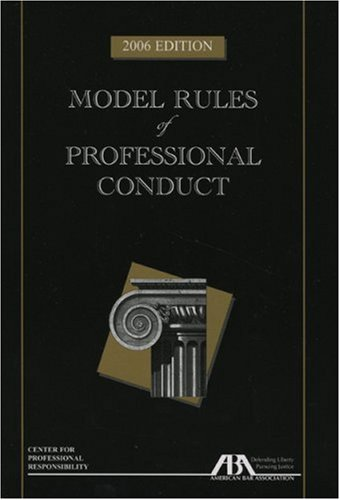 9781590316887: Model Rules of Professional Conduct