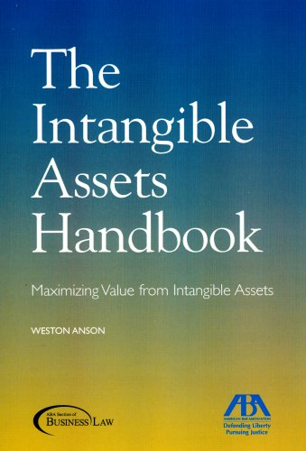 9781590317433: The Intangible Assets Handbook: Maximizing Value from Intangible Assets