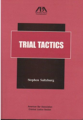 9781590317679: Trial Tactics