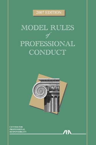 9781590318737: Model Rules of Professional Conduct