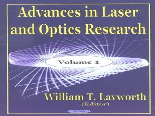 Advances in Laser and Optics Research: v. 1 (Hardback)