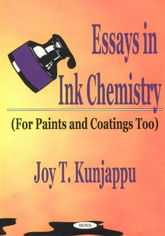 9781590331118: Essays in Ink Chemistry: For Paints and Coatings Too