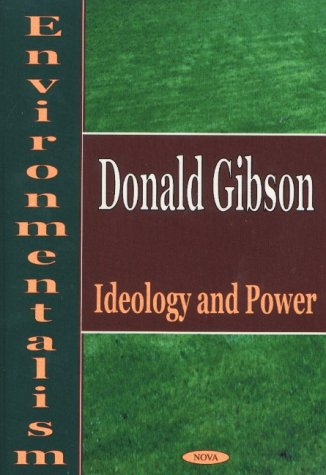 9781590331491: Environmentalism: Ideology and Power
