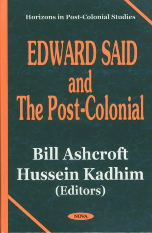 9781590331576: Edward Said and the Post-Colonial
