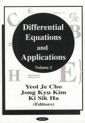 Differential Equations and Applications: v.2 (Hardback)