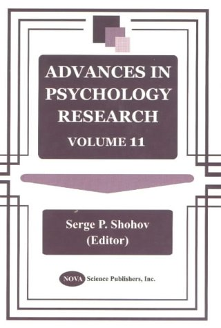 Advances in Psychology Research: Volume 11 (Hardback)