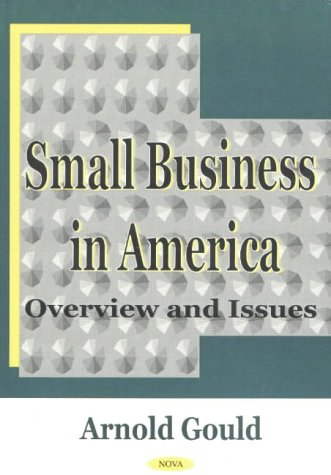 Small Business in America: Overview and Issues (Hardback)