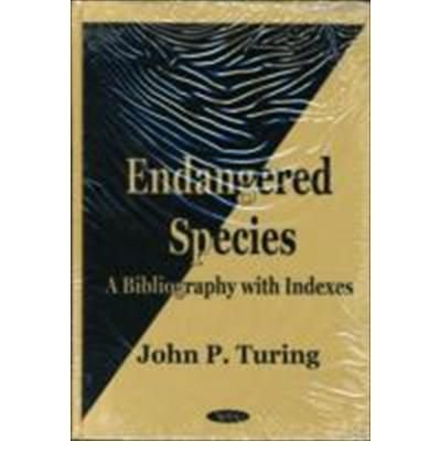 Endangered Species: A Bibliography with Indexes (Hardback)