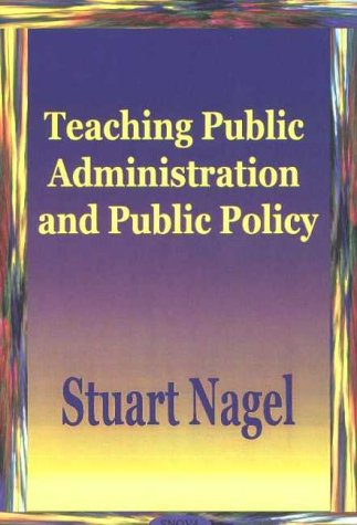 9781590333822: Teaching Public Administration and Public Policy