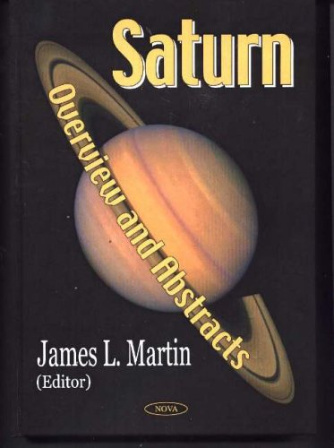 Saturn: Overview and Abstracts: Martin, J.L.