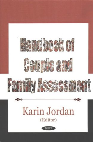 9781590336861: Handbook of Couple and Family Assessment