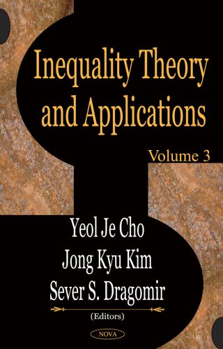 Inequality Theory and Applications: Volume 3 (Hardback)
